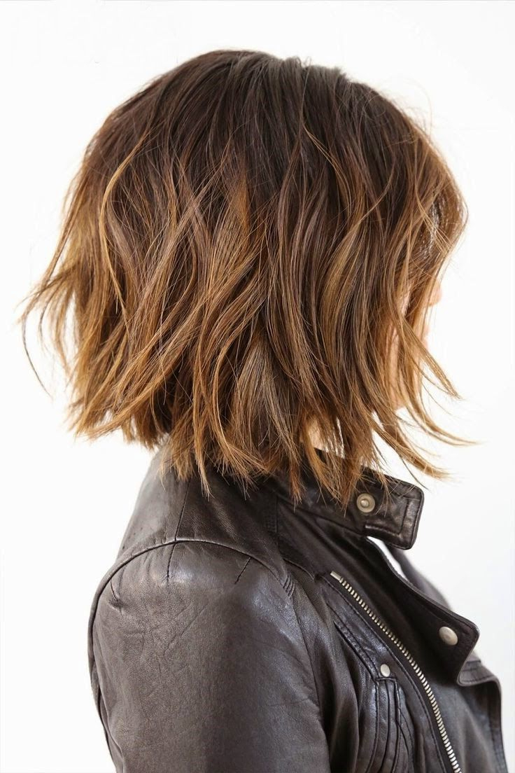 Pin On Be {you} Teful Pertaining To Newest Layered And Textured Bob Hairstyles (View 8 of 20)