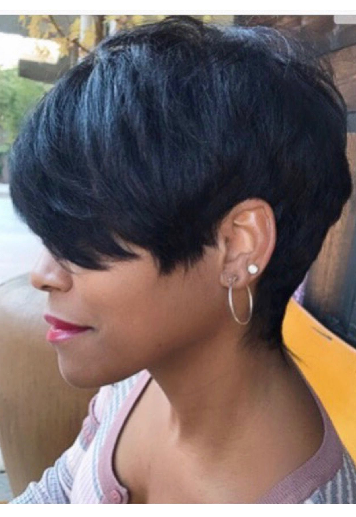 Pin On Beauty Regarding Well Known Sassy Short Pixie Haircuts With Bangs (View 17 of 20)