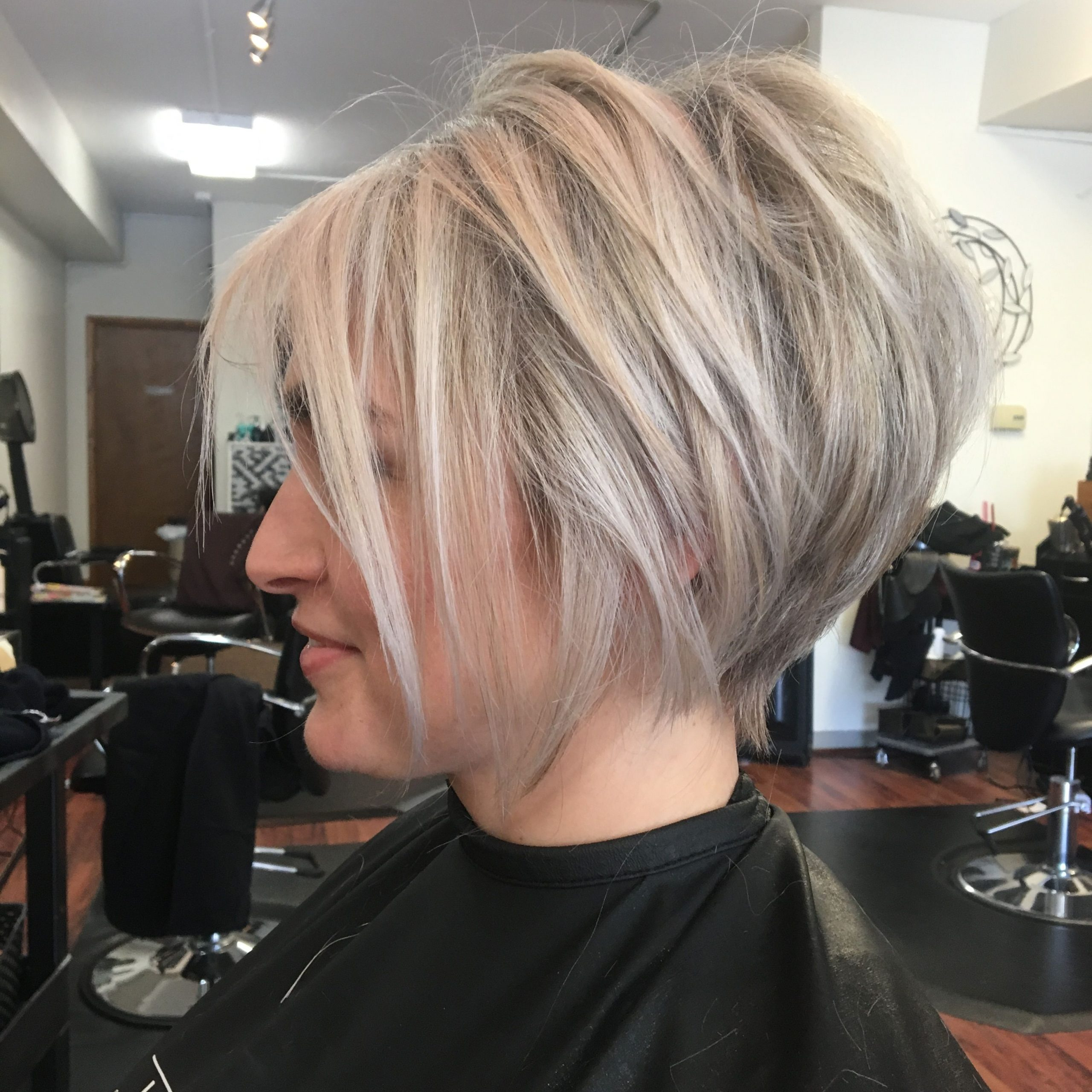 Pin On For The ❤ Of Beauty Within Popular Blonde Undercut Bob Hairstyles (View 15 of 20)