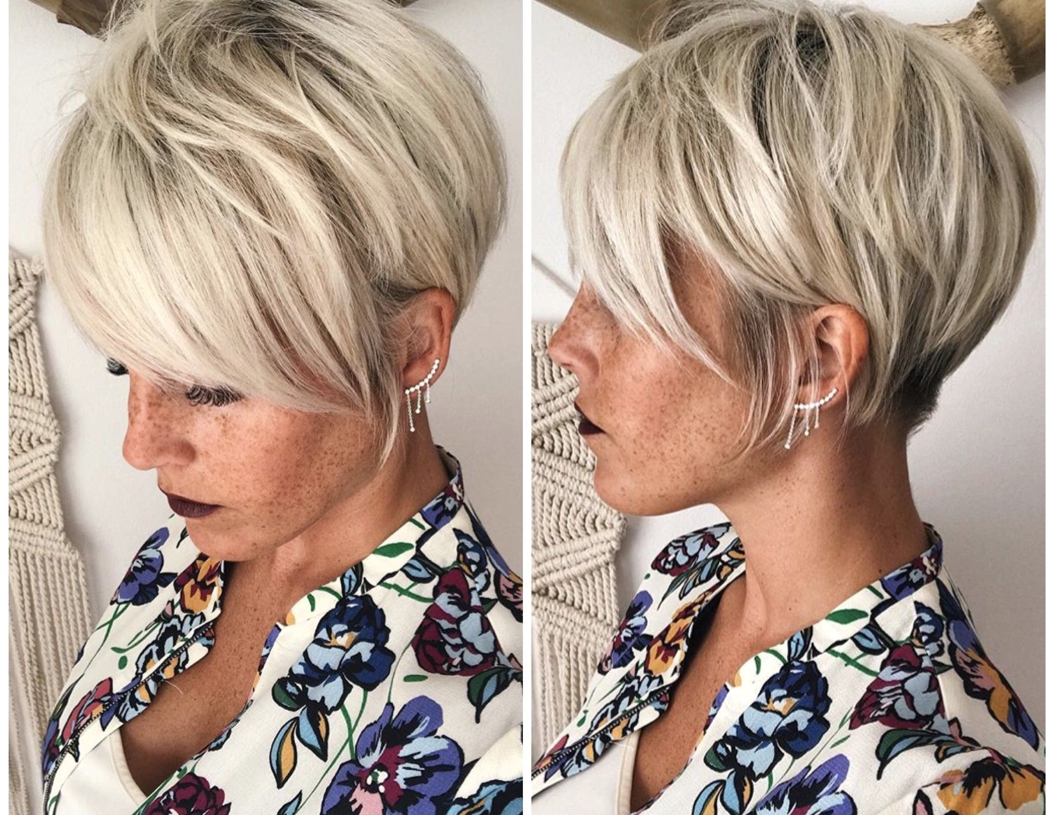 Pin On Great Hairstyles With Regard To Well Liked Flipped Up Platinum Blonde Pixie Haircuts (Gallery 18 of 20)