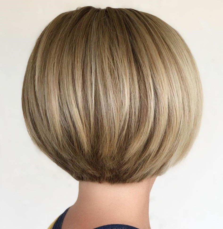 Pin On Hair 2 Throughout Most Up To Date Rounded Sleek Bob Hairstyles With Minimal Layers (View 17 of 20)