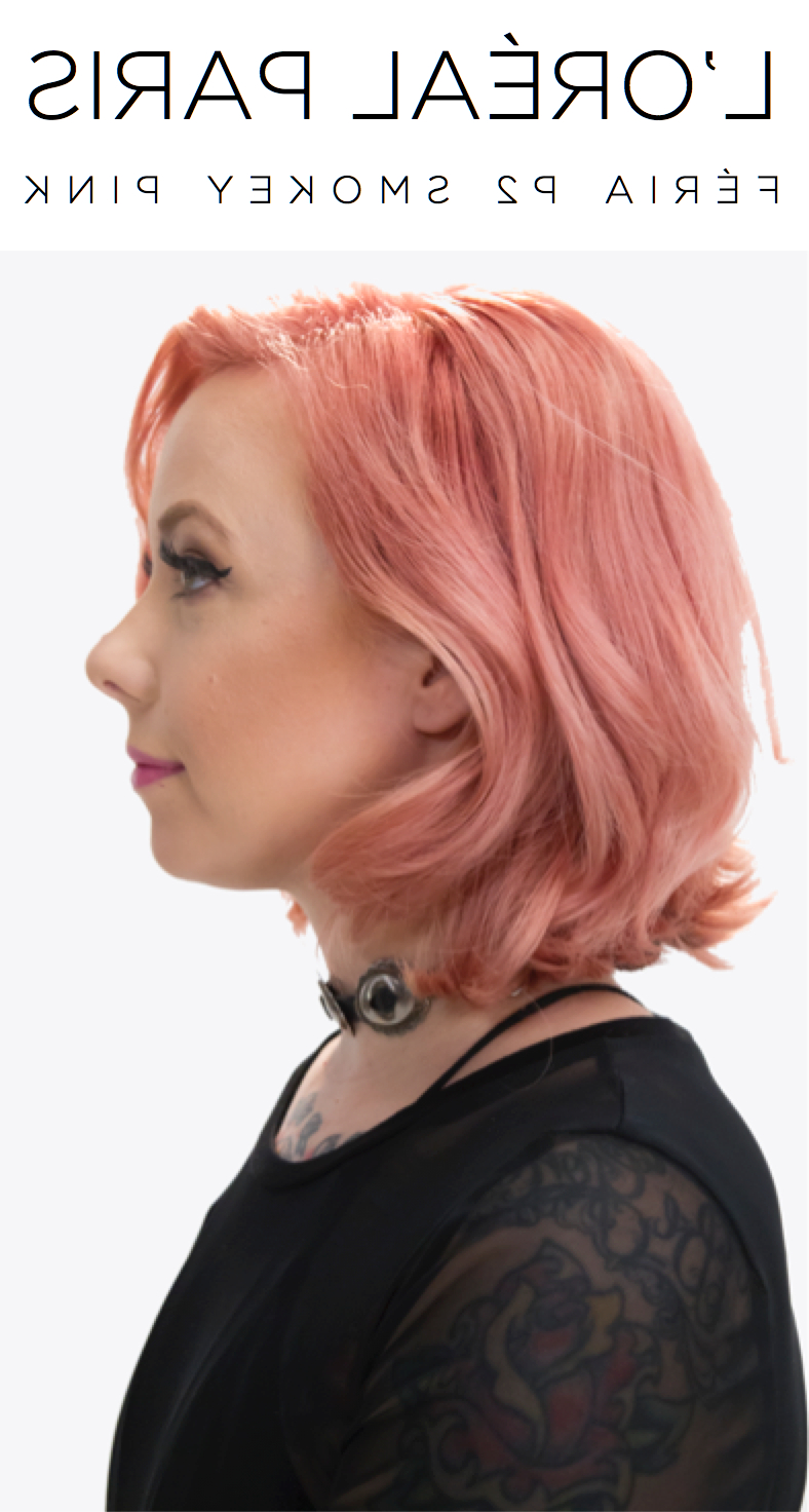 Pin On Hair Colors For Recent Smokey Pastel Colors Pixie Haircuts (View 10 of 20)