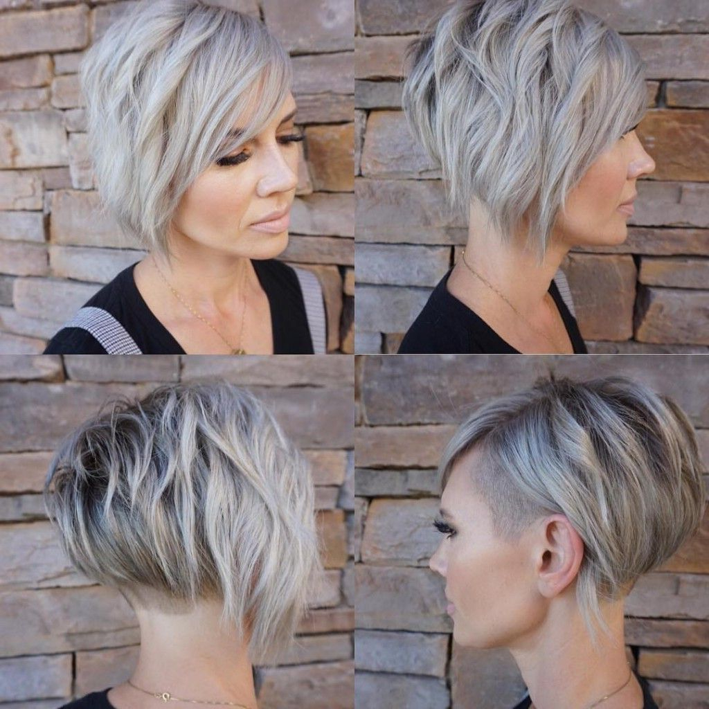 Pin On Hair Intended For Best And Newest Short Choppy Layers Pixie Bob Hairstyles (View 12 of 20)
