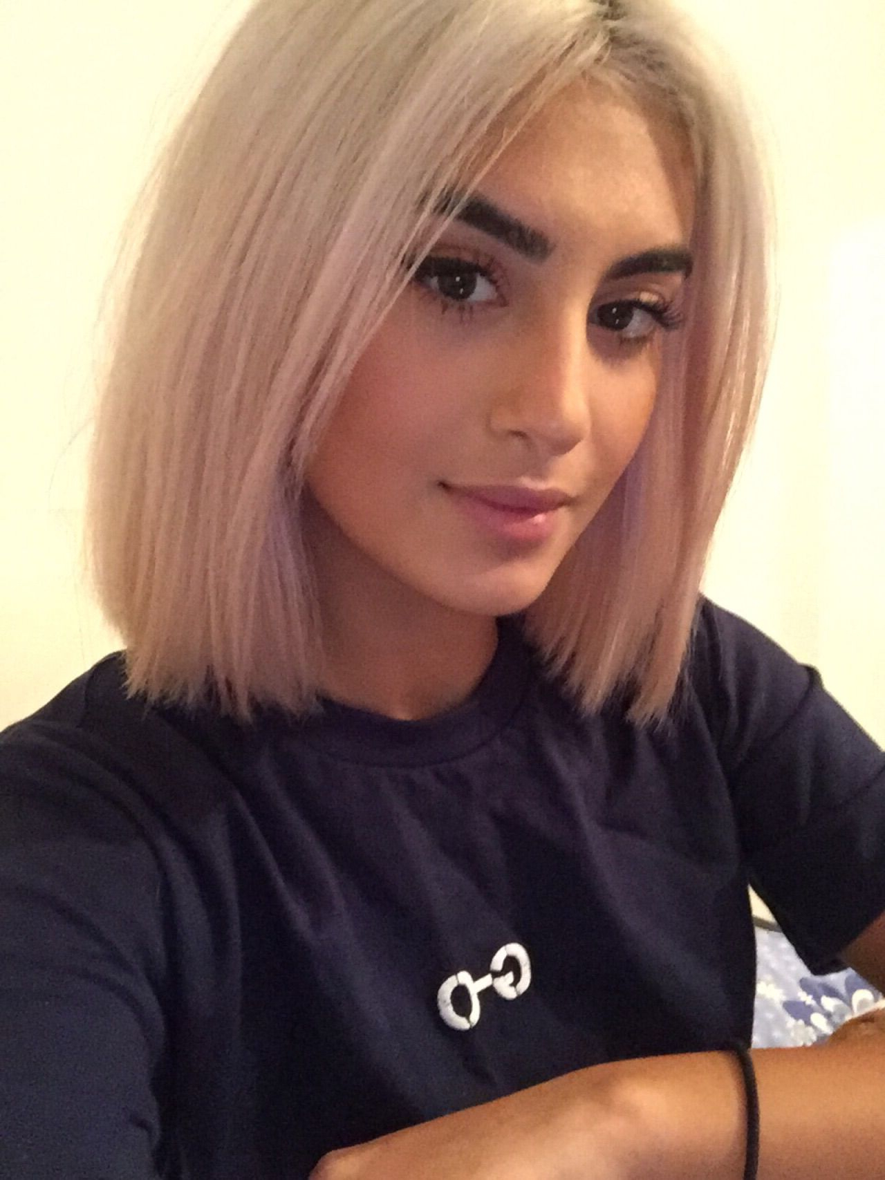 Pin On Hair Styles For Newest Sleek Blunt Bob Hairstyles (View 17 of 20)