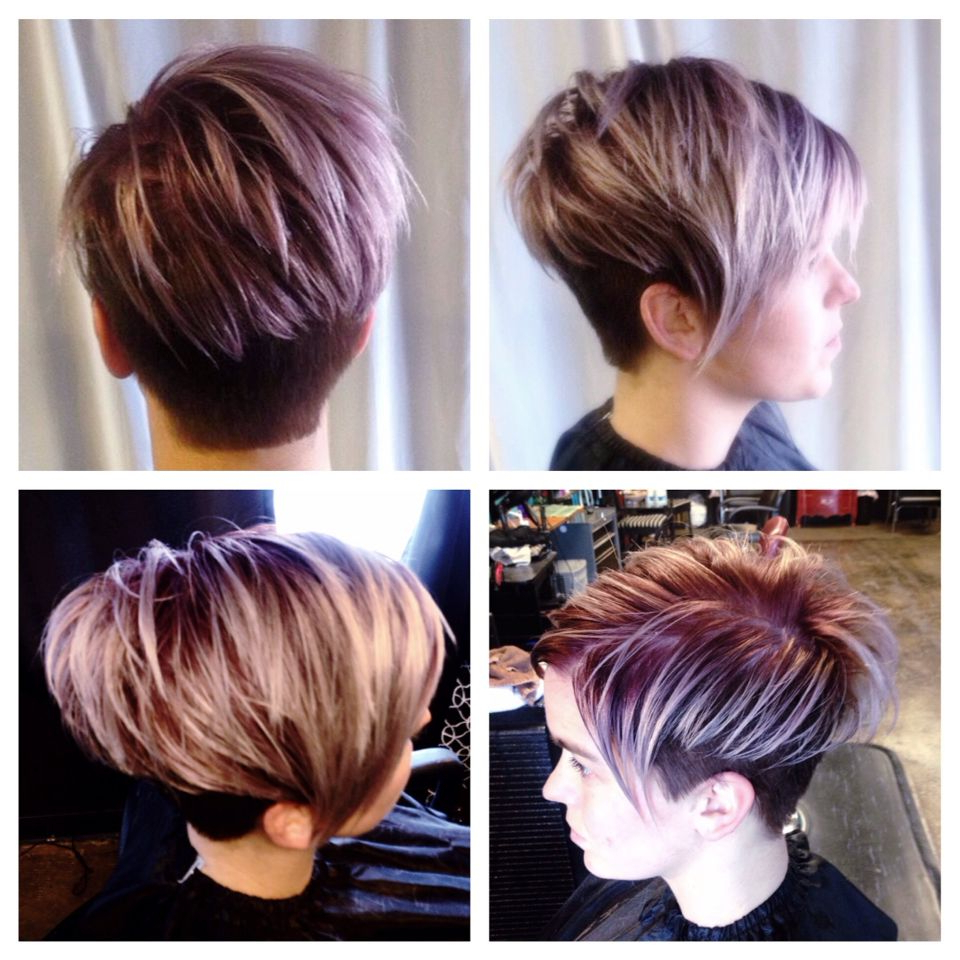 Pin On Hair Styles Regarding Current Metallic Short And Choppy Pixie Haircuts (Gallery 14 of 20)
