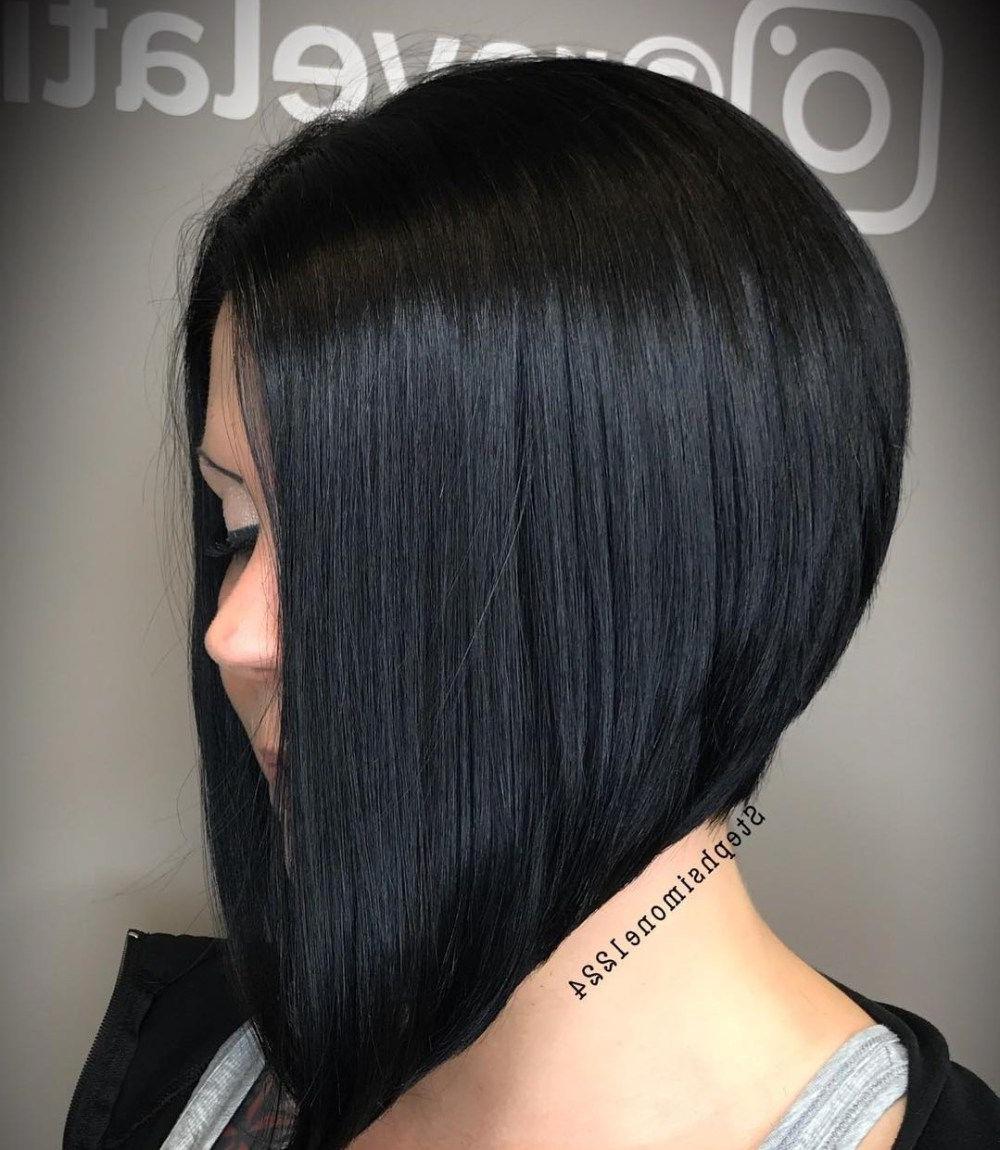 Pin On Haircut For 2017 Jet Black Chin Length Sleek Bob Hairstyles (View 11 of 20)