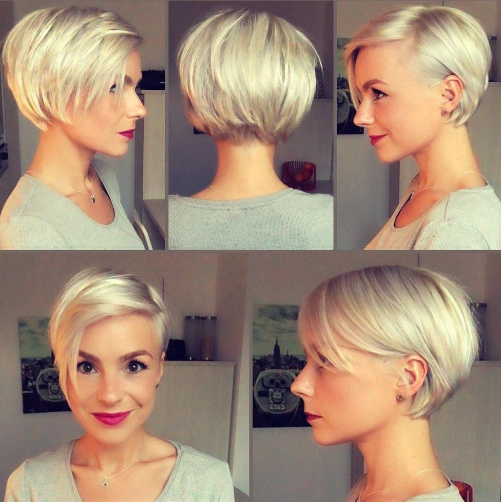 Pin On Hairstyles Galore Intended For Well Known Part Pixie Part Bob Hairstyles (View 12 of 20)