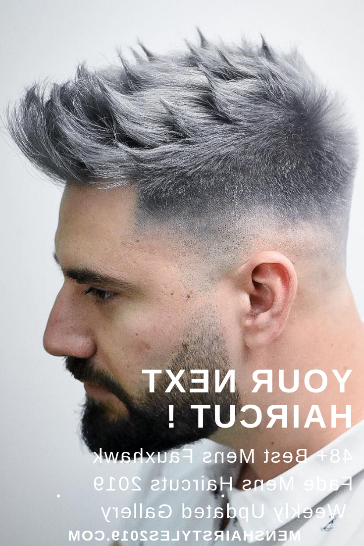 Pin On Hairstyles Within Favorite Faux Hawk Fade Haircuts With Purple Highlights (View 2 of 20)