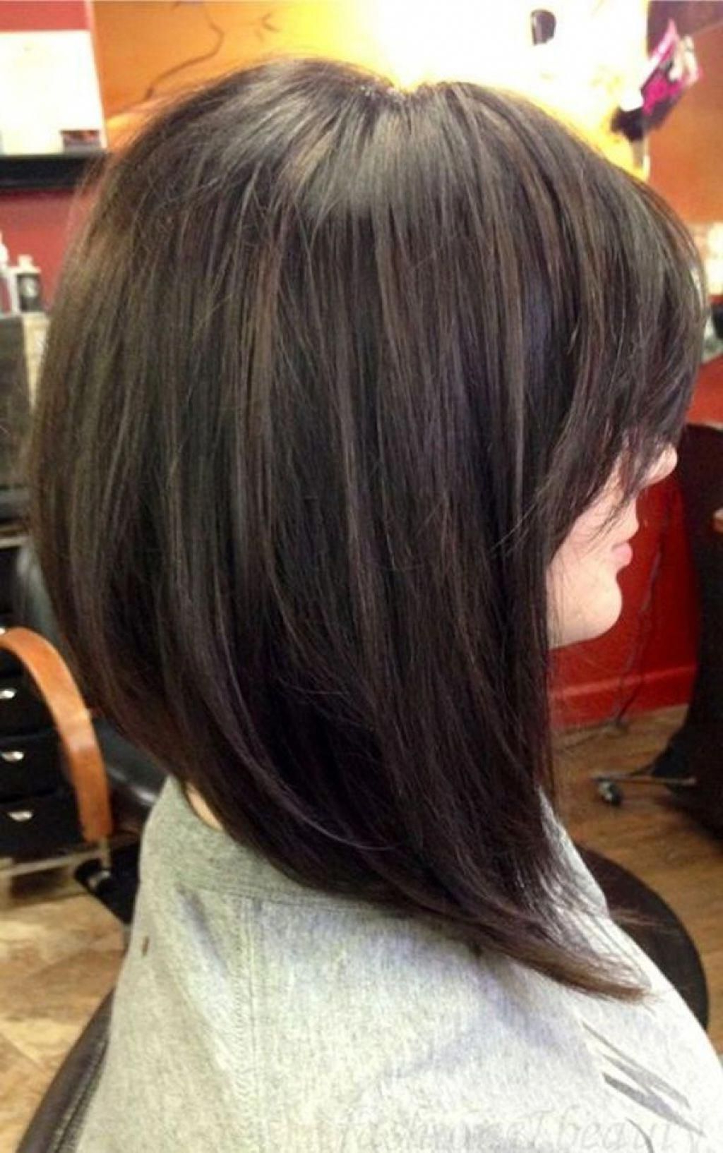 Pin On Long Bob Haircuts With Bangs Within Well Known Modern Swing Bob Hairstyles With Bangs (View 16 of 20)