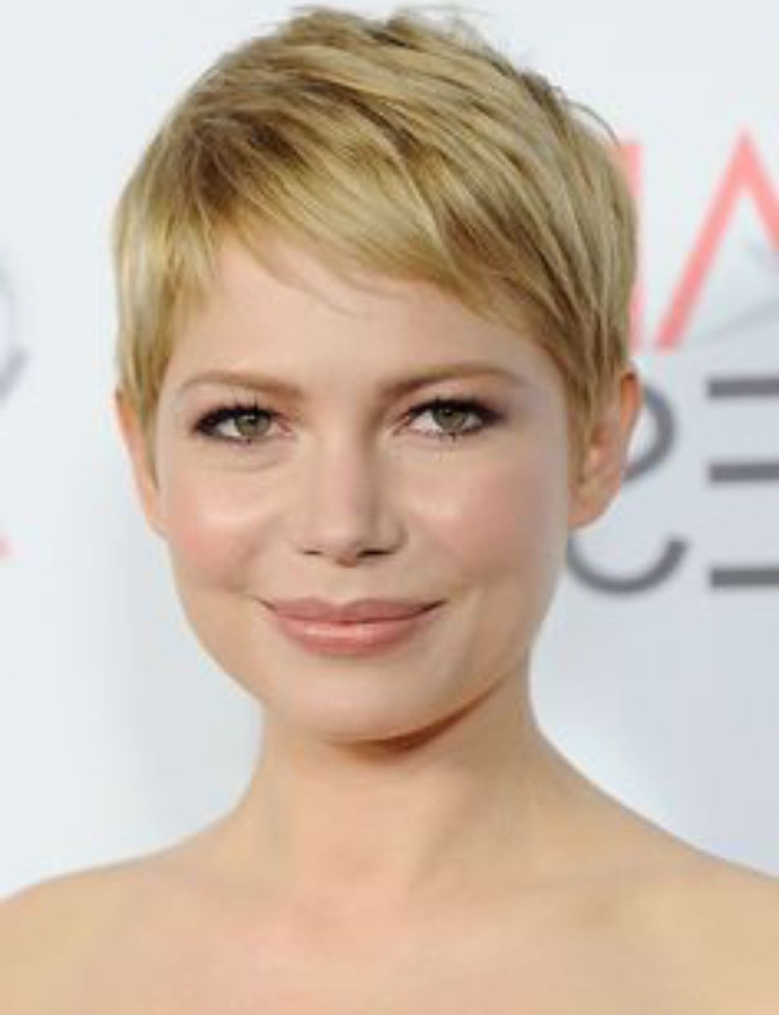 Pin On Make Up Intended For Favorite Michelle Williams Pixie Haircuts (View 4 of 20)