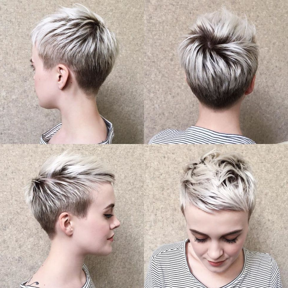 Pin On Makeup And Hair For Most Recently Released Super Short Shag Pixie Haircuts (Gallery 1 of 20)