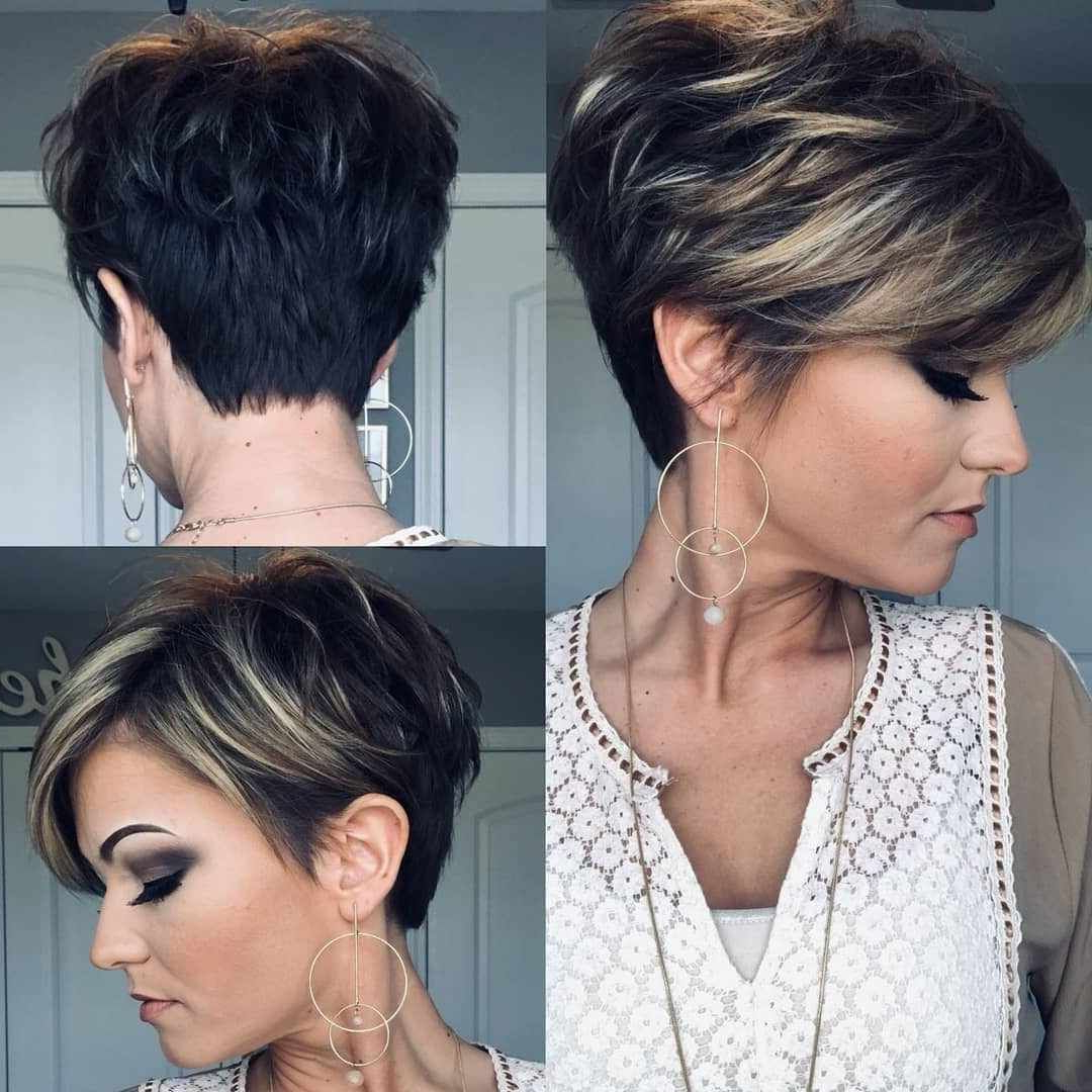 Pin On Short Hair Styles Within Current Part Pixie Part Bob Hairstyles (Gallery 10 of 20)