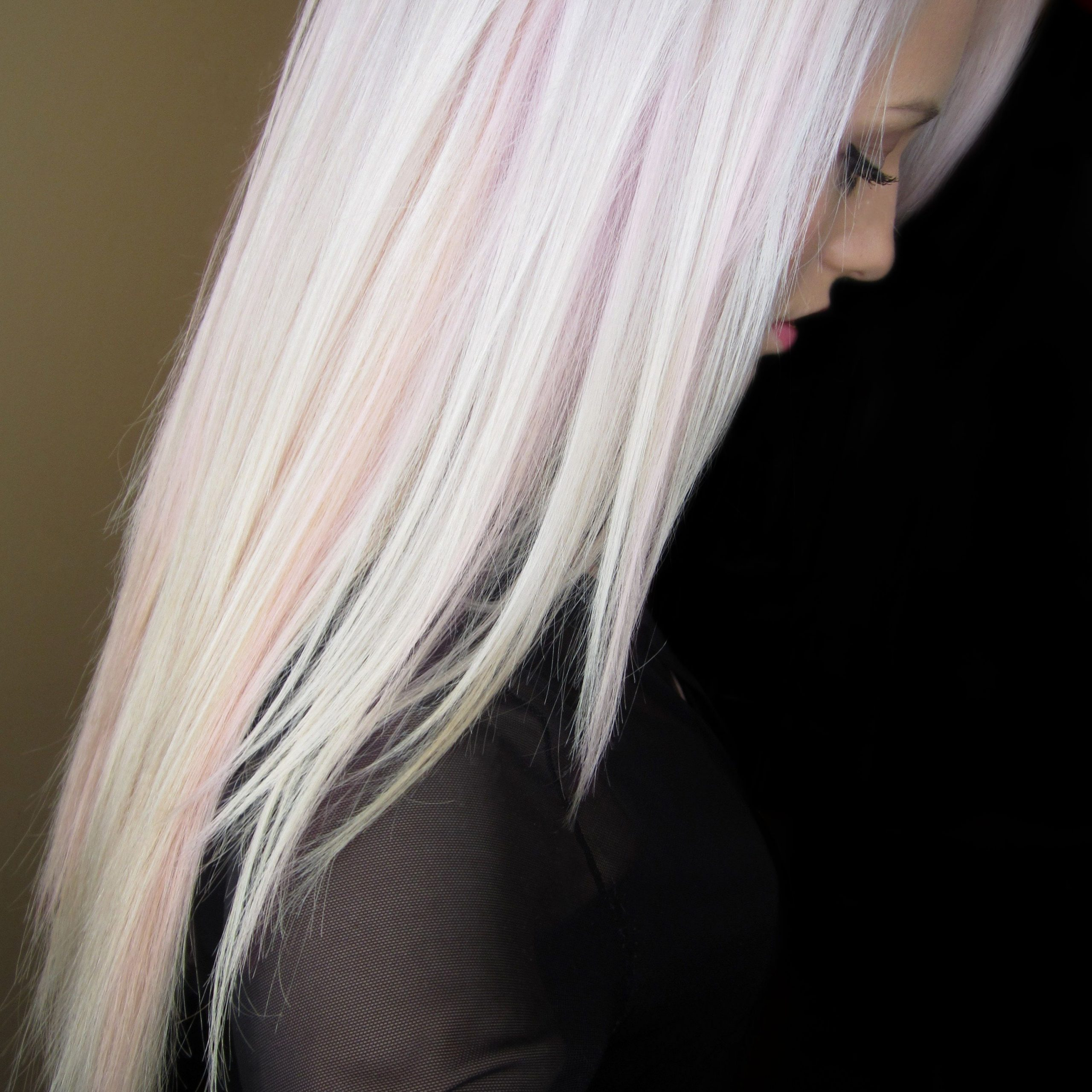 Pink Blonde Hair, White Blonde Hair Within Fashionable Baby Pink Braids Hairstyles (Gallery 10 of 20)