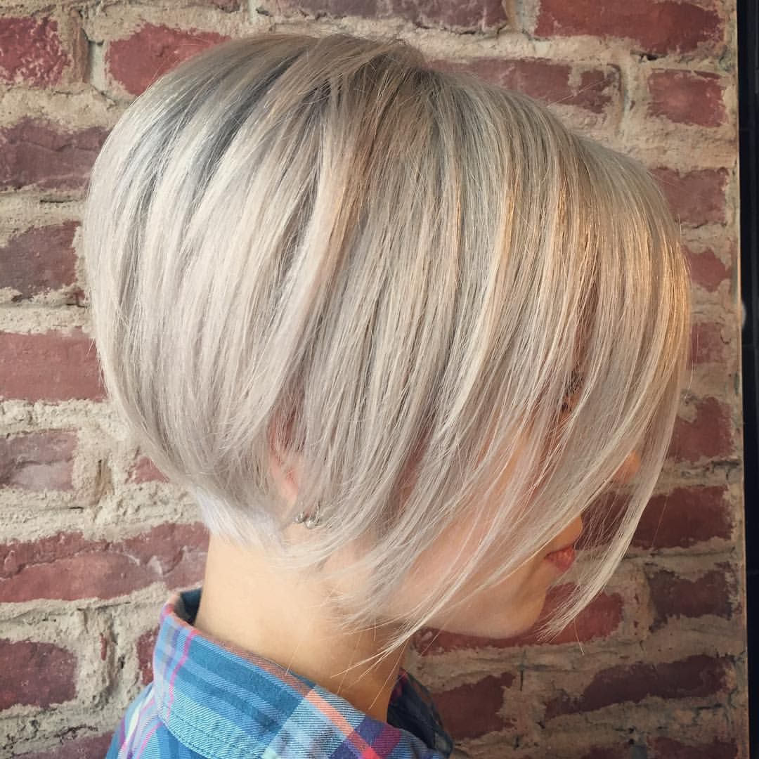 Pinterest Within 2018 Blonde Undercut Bob Hairstyles (View 18 of 20)