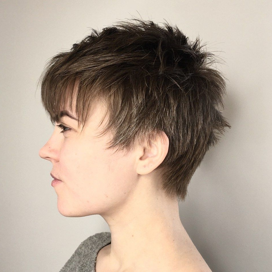 Pixie Haircut Intended For 2018 Androgynous Pixie Haircuts (Gallery 1 of 20)