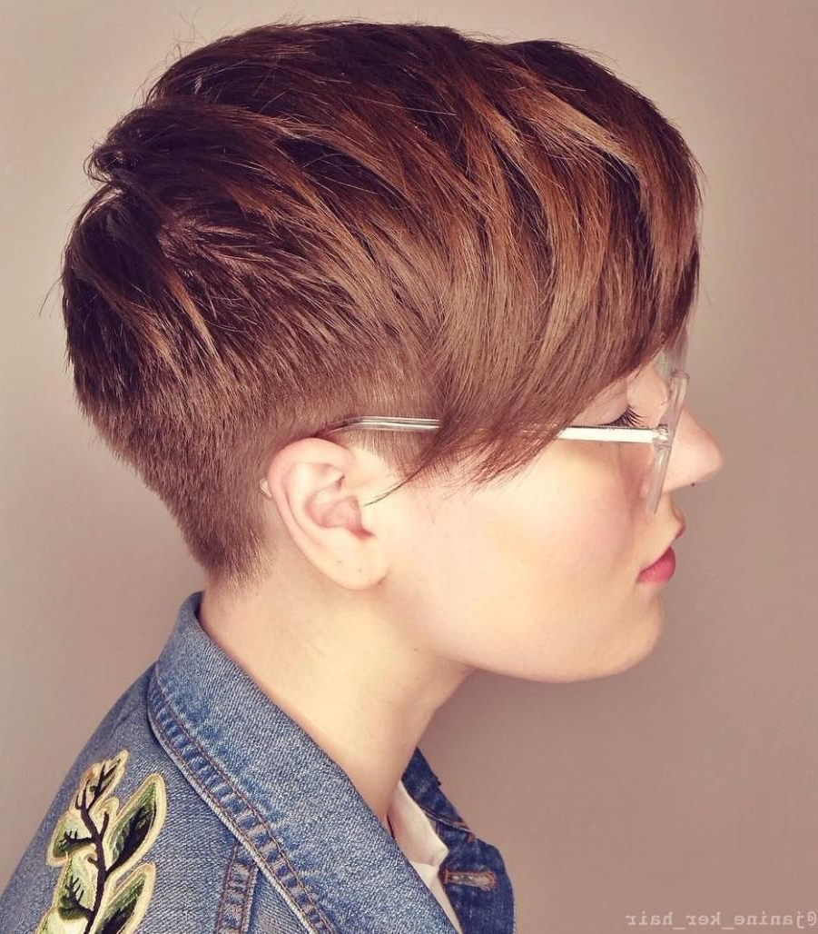 Pixie Haircuts With Bangs – 50 Terrific Tapers In 2019 Regarding Latest Edgy Look Pixie Haircuts With Sass (View 8 of 20)
