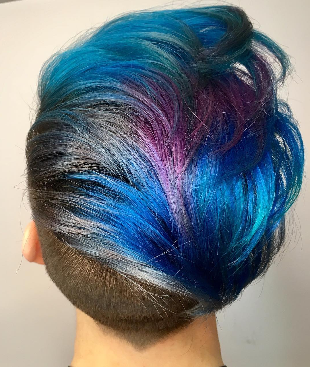 Popular Aqua Green Undercut Hairstyles With Regard To Merman Hair (View 17 of 20)