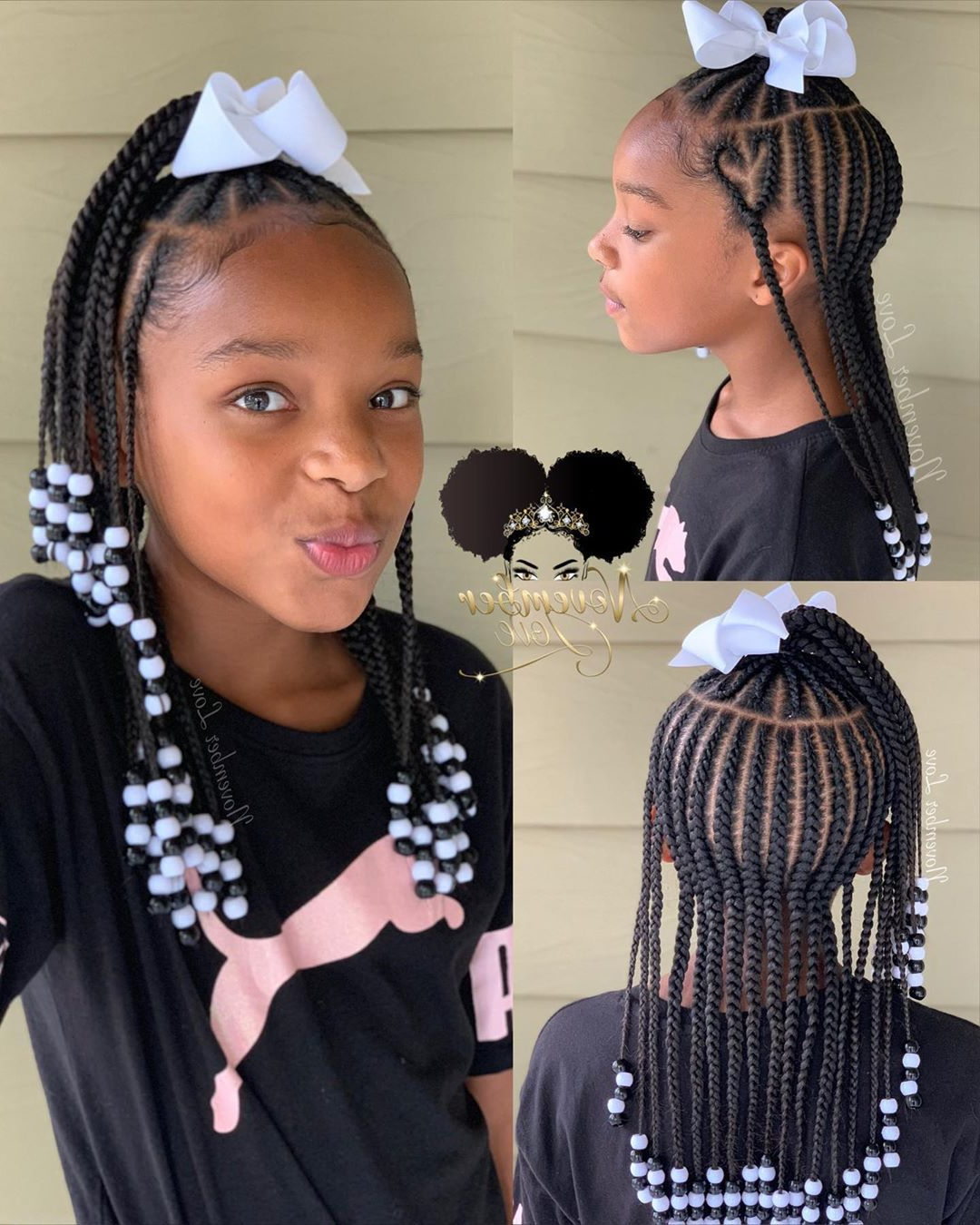 Popular Beaded Braids Hairstyles Pertaining To Children's Braids And Beads! Booking Link In Bio (View 15 of 20)