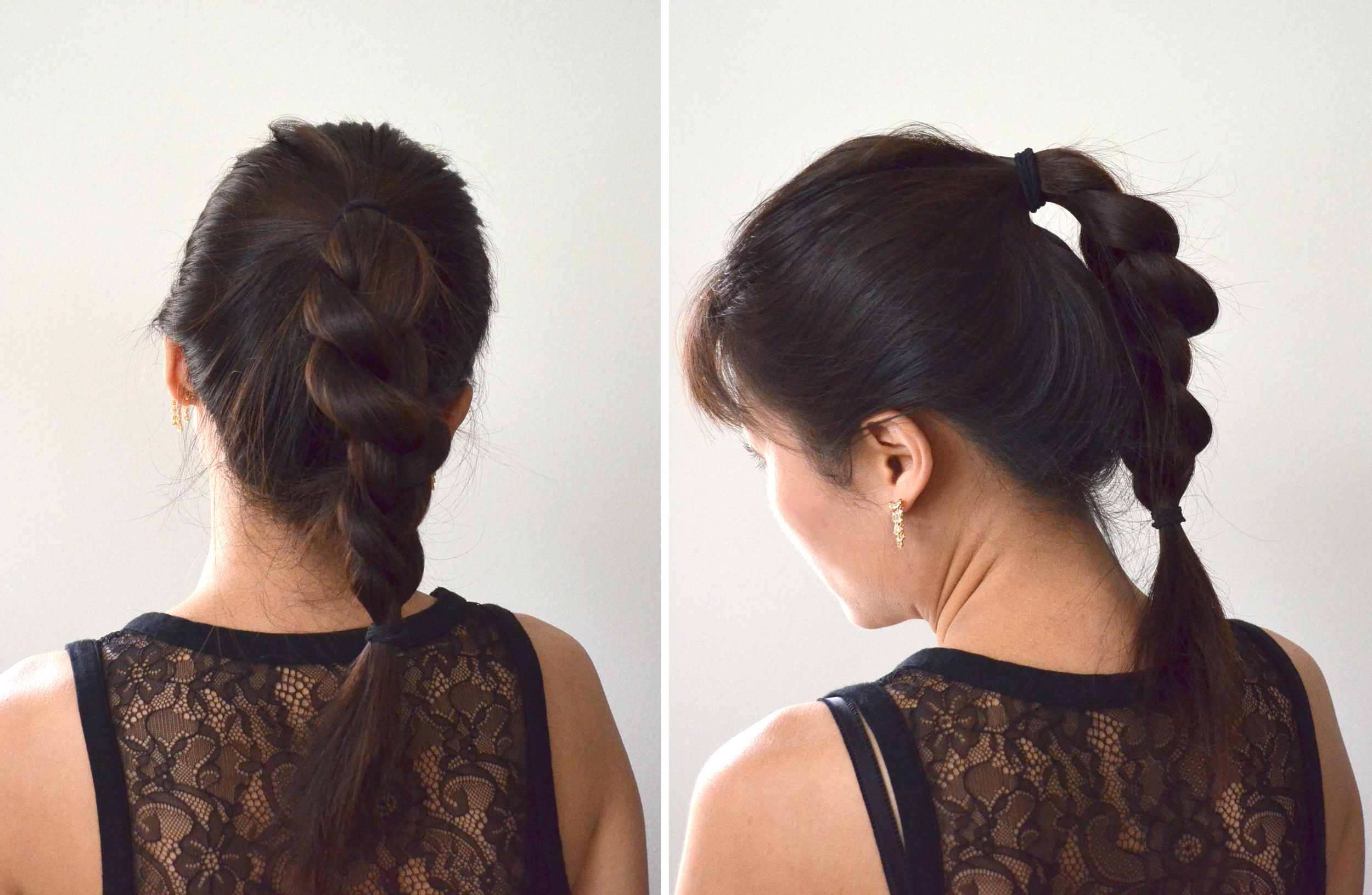 Popular High Ponytail Braid Hairstyles Within 3 Everyday Hairstyles Under 3 Minutes (View 17 of 20)