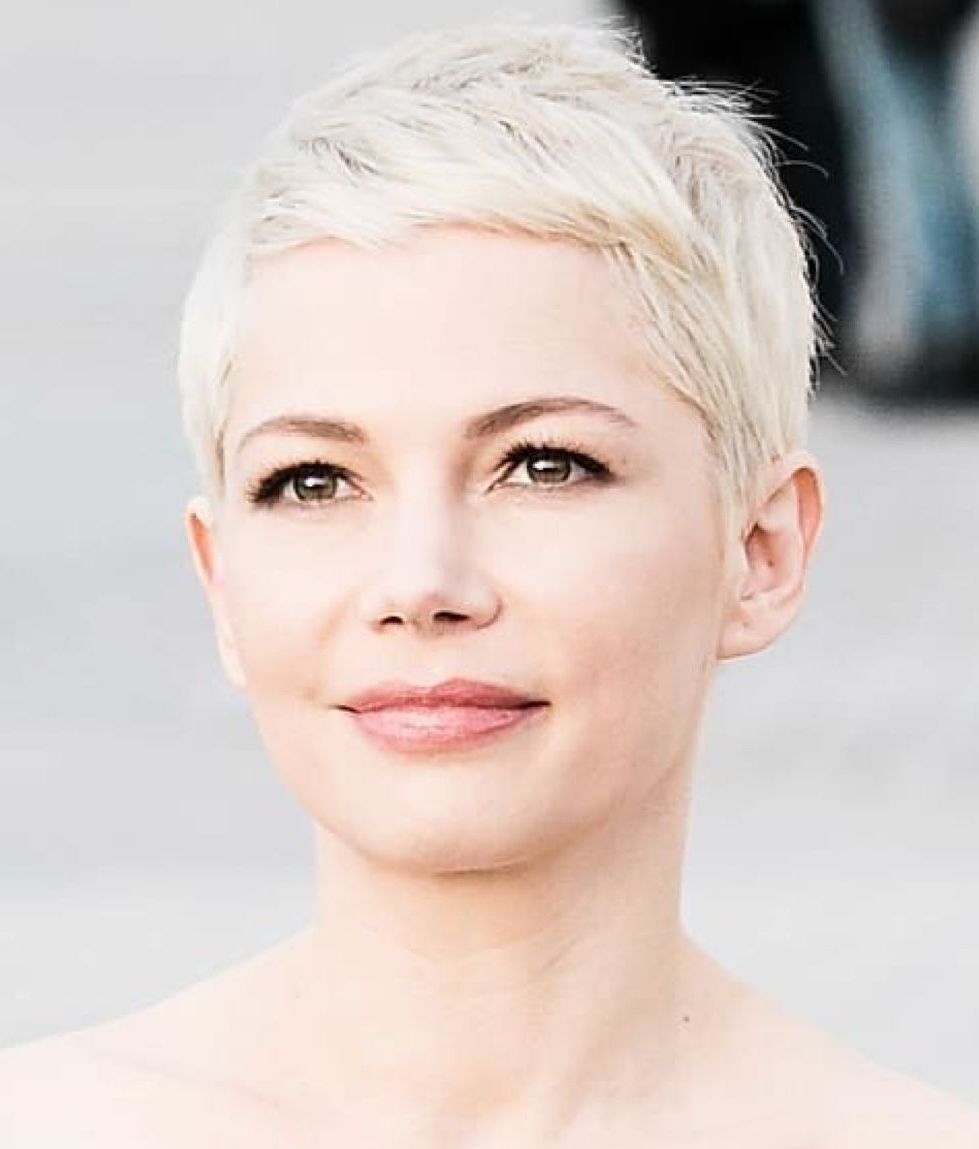Popular Michelle Williams Pixie Haircuts Inside Pin On Short And Sassy Hair (Gallery 15 of 20)