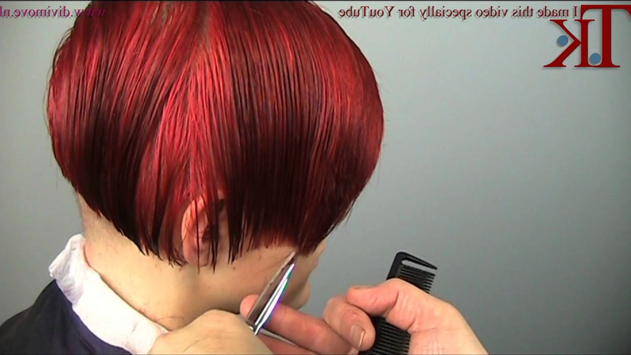 Popular Pageboy Maroon Red Pixie Haircuts With Regard To I Want It To Be Christmas!!! Christmas Haircut On Kellytheo Knoop (View 7 of 20)