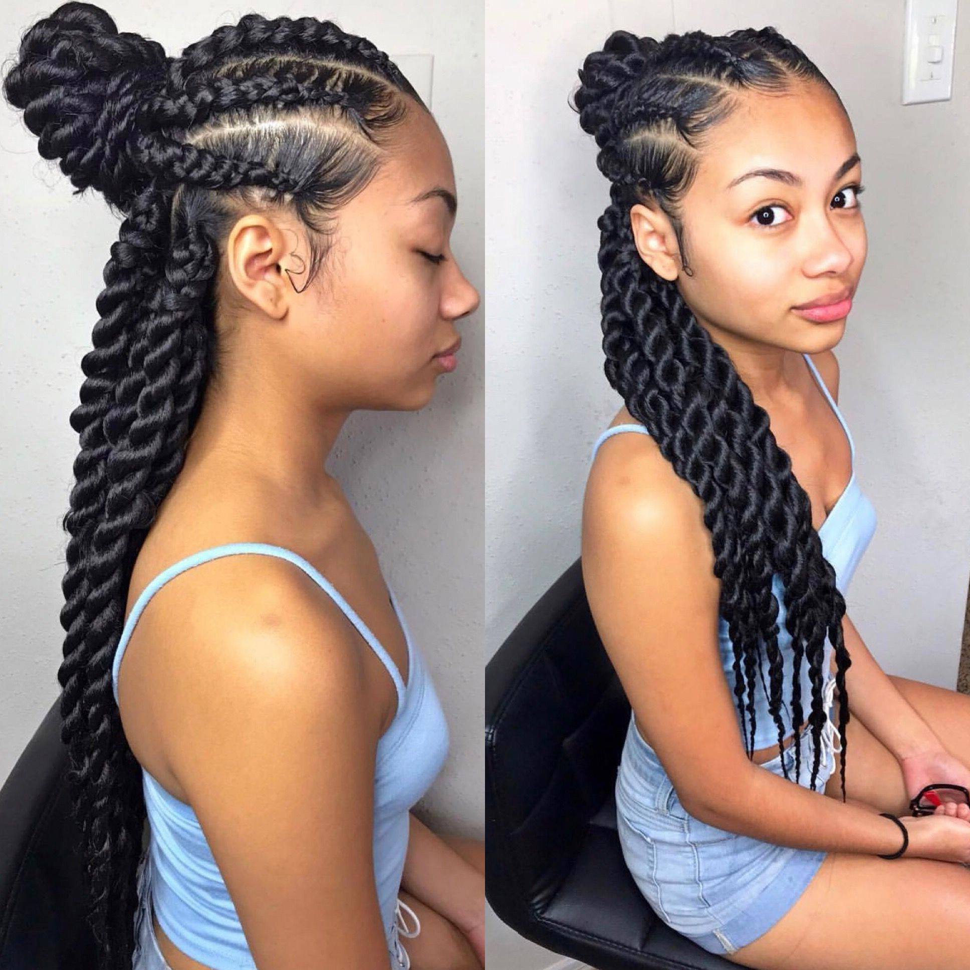 Preferred Half Braided Hairstyles With Regard To Latest Braided Hairstyle #shortbraidedhairstyles (Gallery 1 of 20)