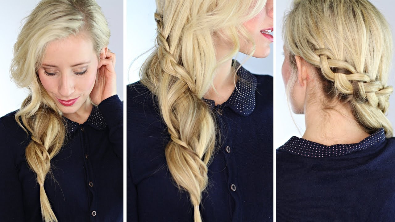 Preferred Side Swept Carousel Braid Hairstyles With Regard To Carousel Braid (View 8 of 20)