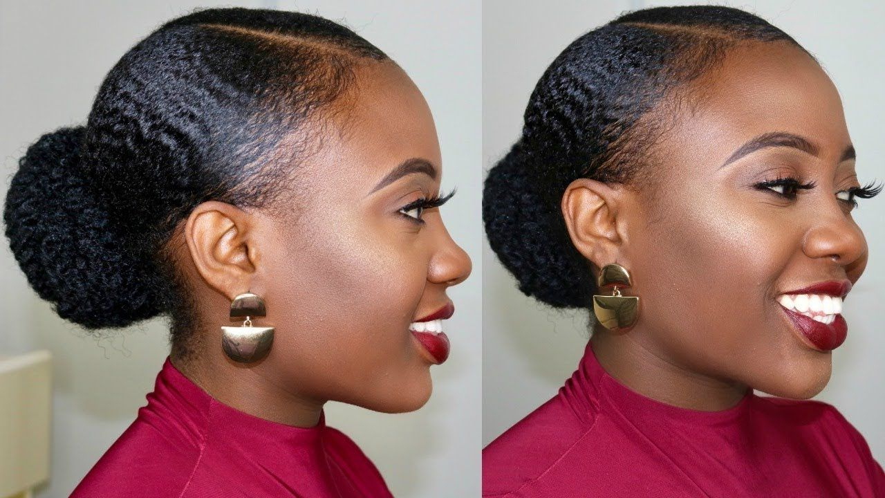 Preferred Slicking Down Braids Hairstyles Inside 4C Natural Hair Stays Slick Down For One Week!?😲 How To (View 12 of 20)