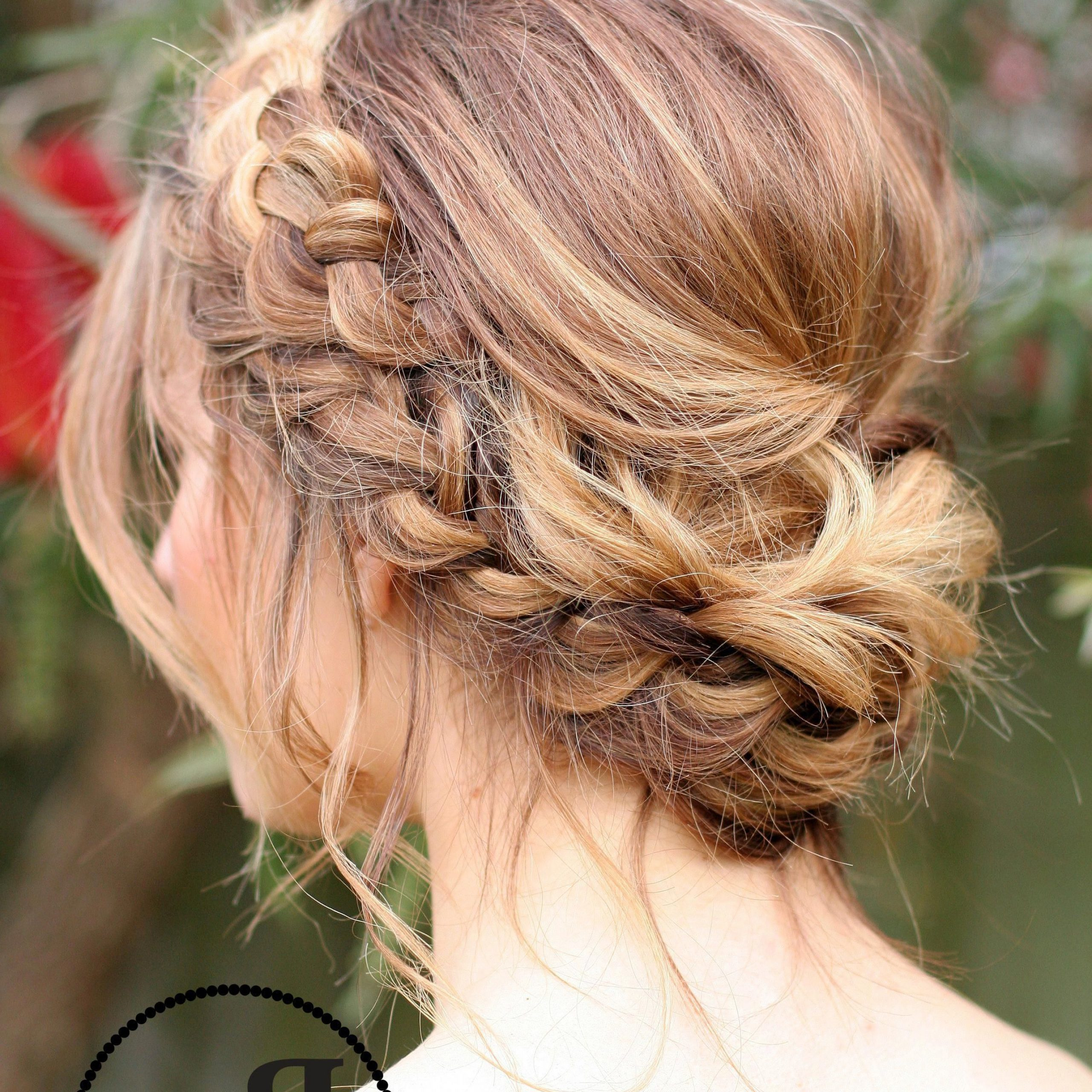 Princess Crown Braid: One Of The Best Updated Version For In Most Popular Messy Crown Braid Hairstyles (View 17 of 20)