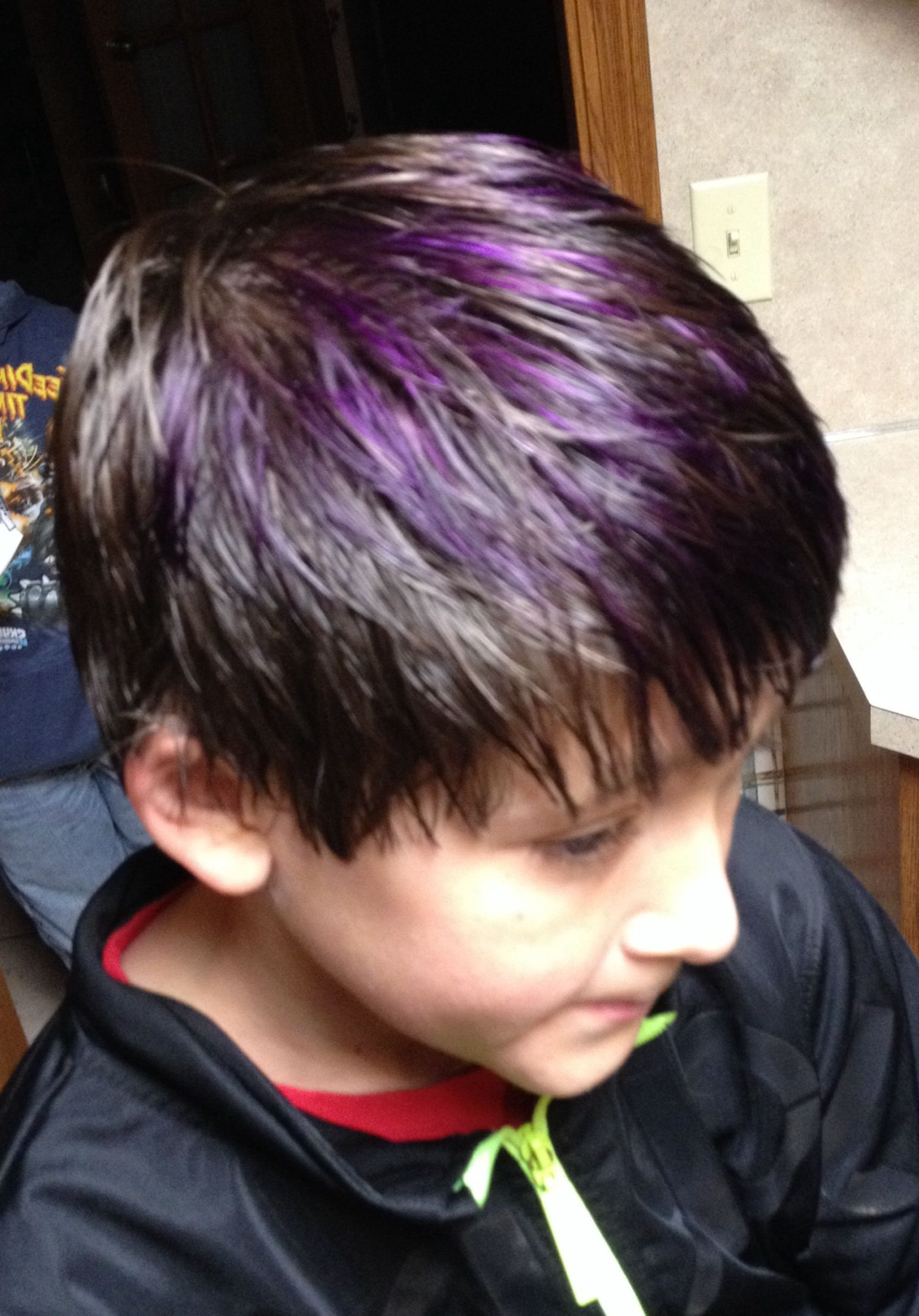 Purple Highlights (View 11 of 20)