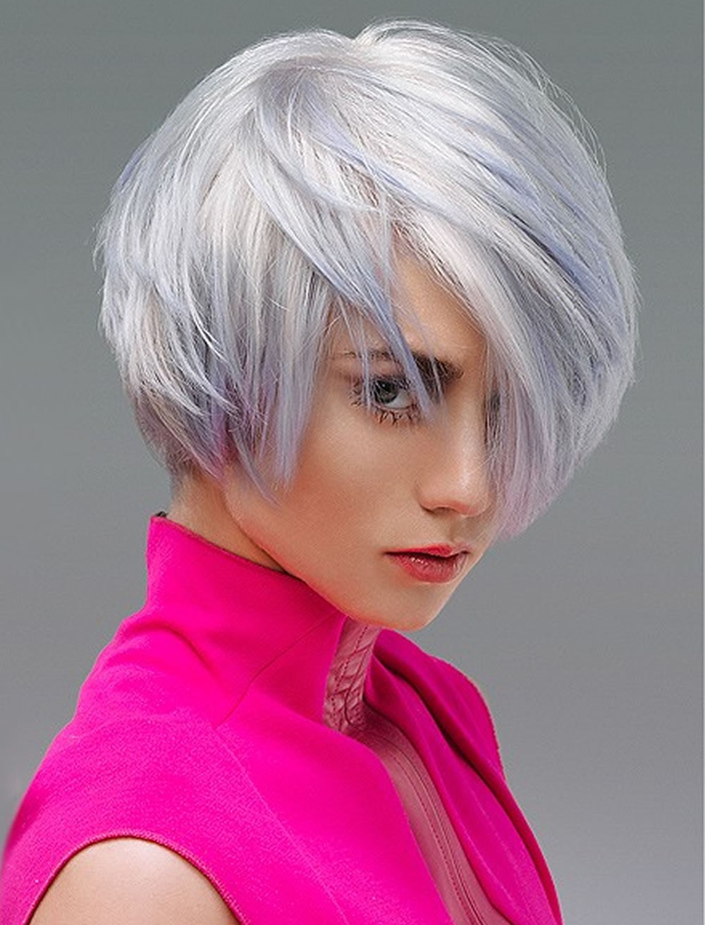 Recent Asymmetrical Bob Hairstyles Intended For Asymmetrical Bob Hairstyles 2019–2020 Custom Images; (View 12 of 20)