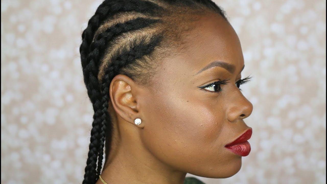 Recent Crown Cornrow Hairstyles Intended For 21 Cool Cornrow Braid Hairstyles You Need To Try – The Trend (View 15 of 20)