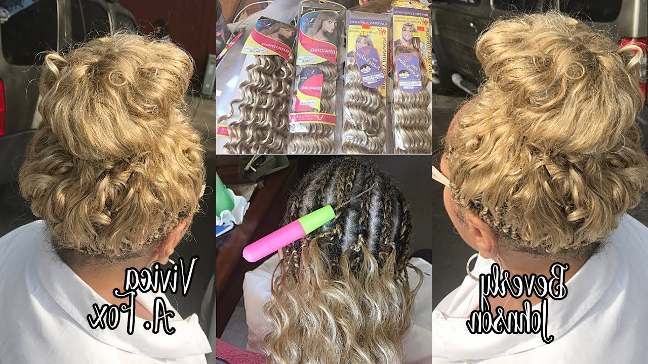 Featured Photo of Loose Spiral Braid Hairstyles