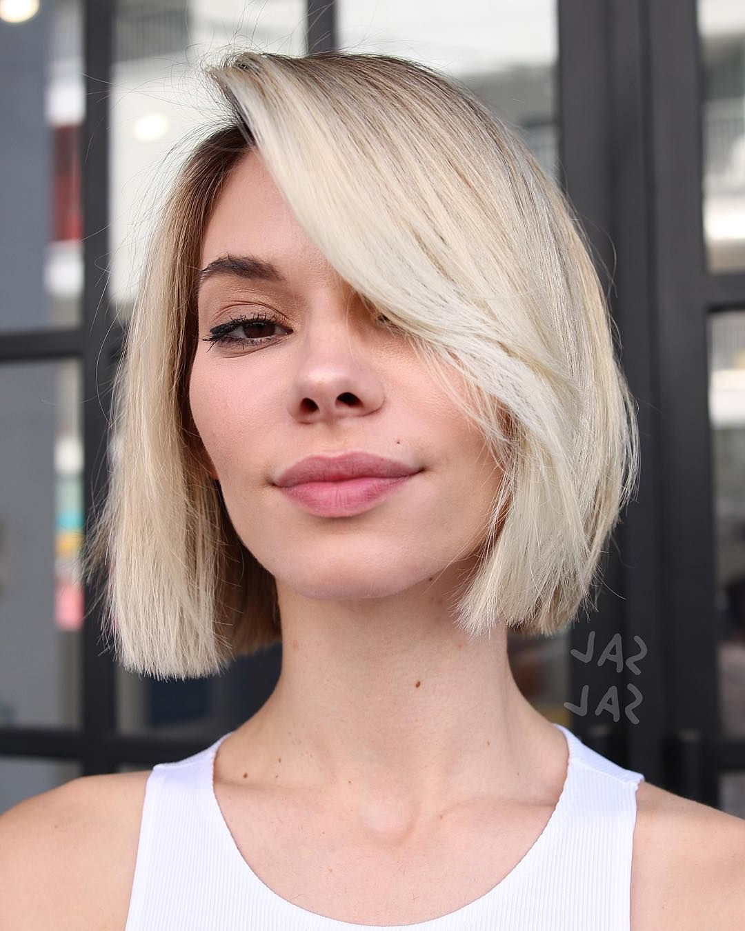 Recent Sharp And Blunt Bob Hairstyles With Bangs Throughout 70 Best Bob Haircuts – Stunning Bob Hairstyles For Women (View 9 of 20)