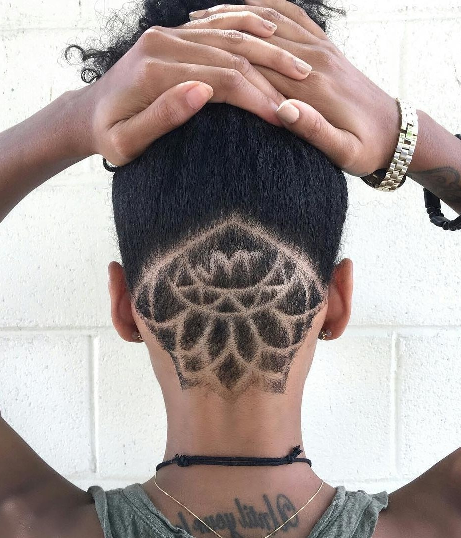 Recent Shaved Undercuts Inside 30 Hideable Undercut Hairstyles For Women You'll Want To (View 16 of 20)