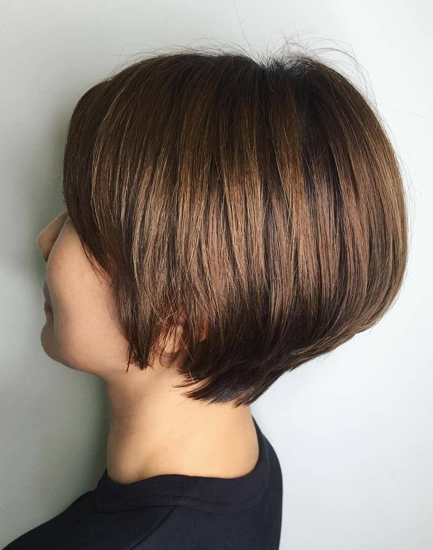 Recent Wedge Bob Hairstyles Inside 20 Exclusive Wedge Haircuts To Get The Desired Look (View 14 of 20)