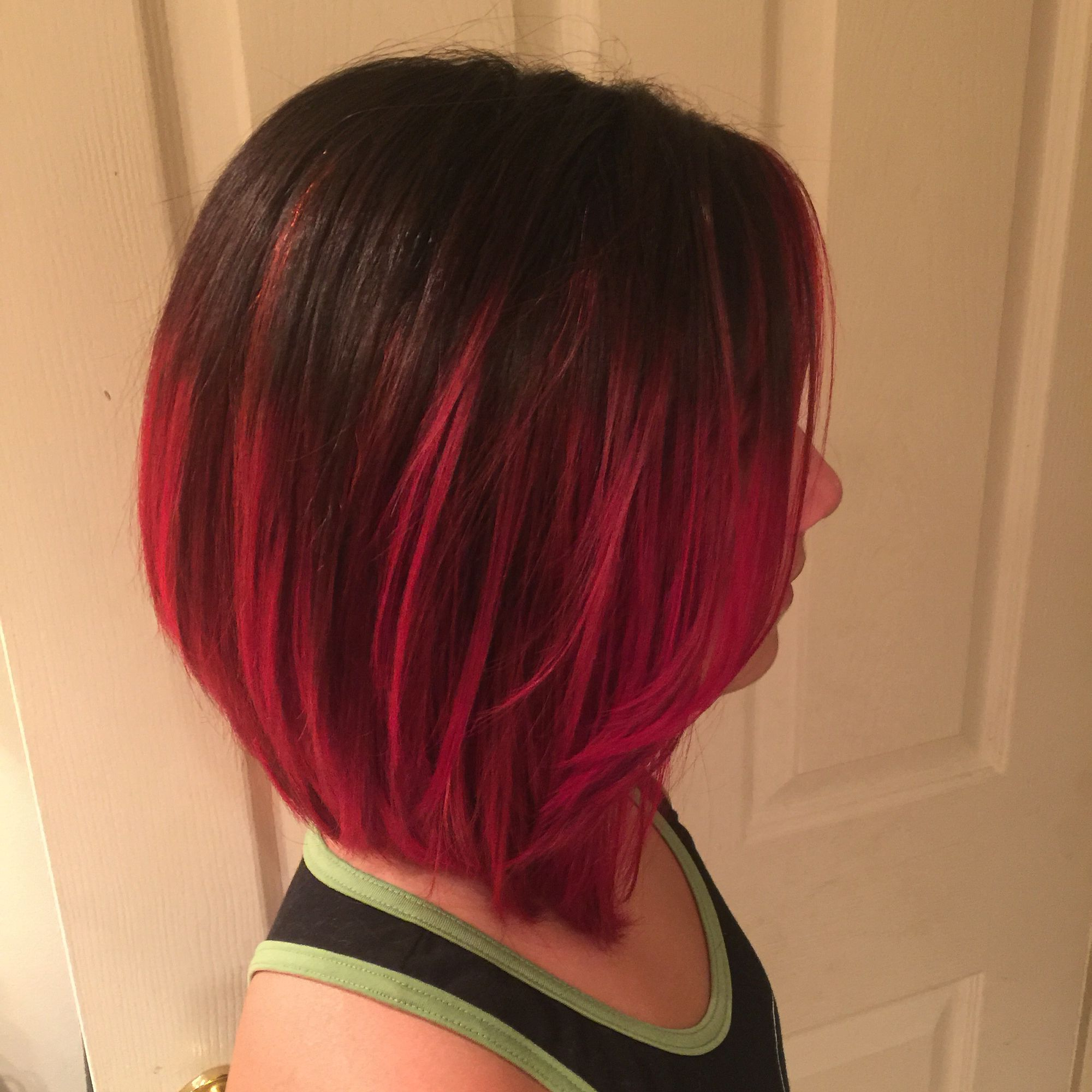 Red Ombre Hair, Ombre (View 5 of 20)
