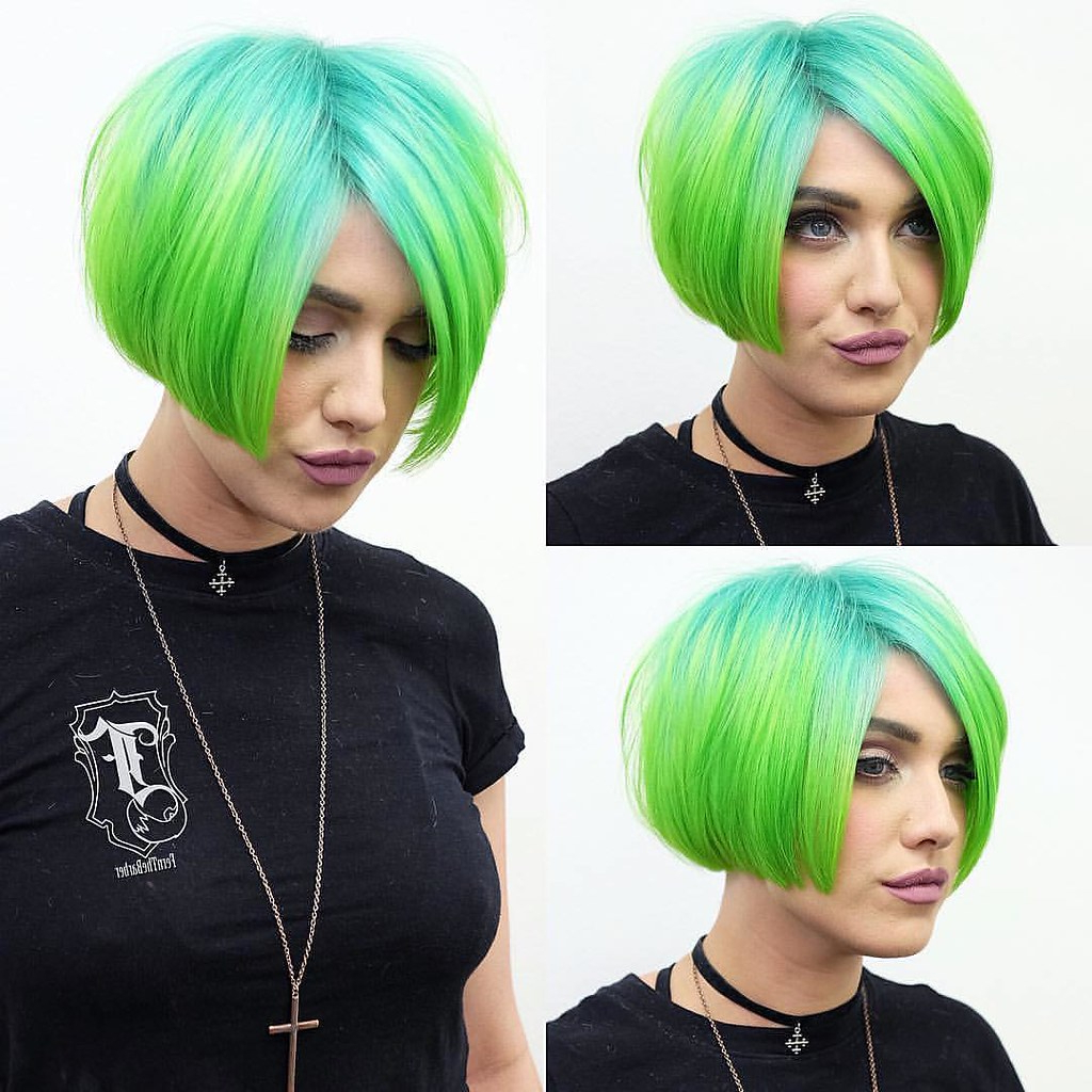 See How To St Pertaining To 2017 Aqua Green Undercut Hairstyles (View 13 of 20)