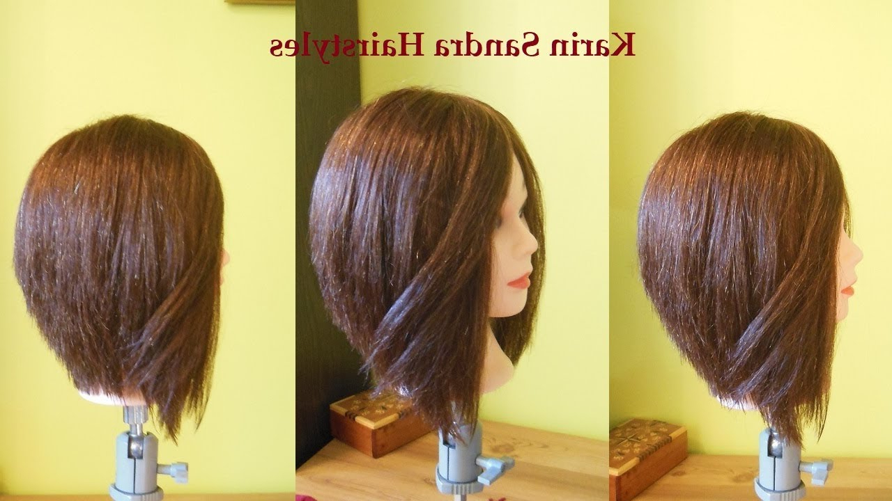Shaped Bob Haircut Tutorial With Layers Step Step (View 15 of 20)