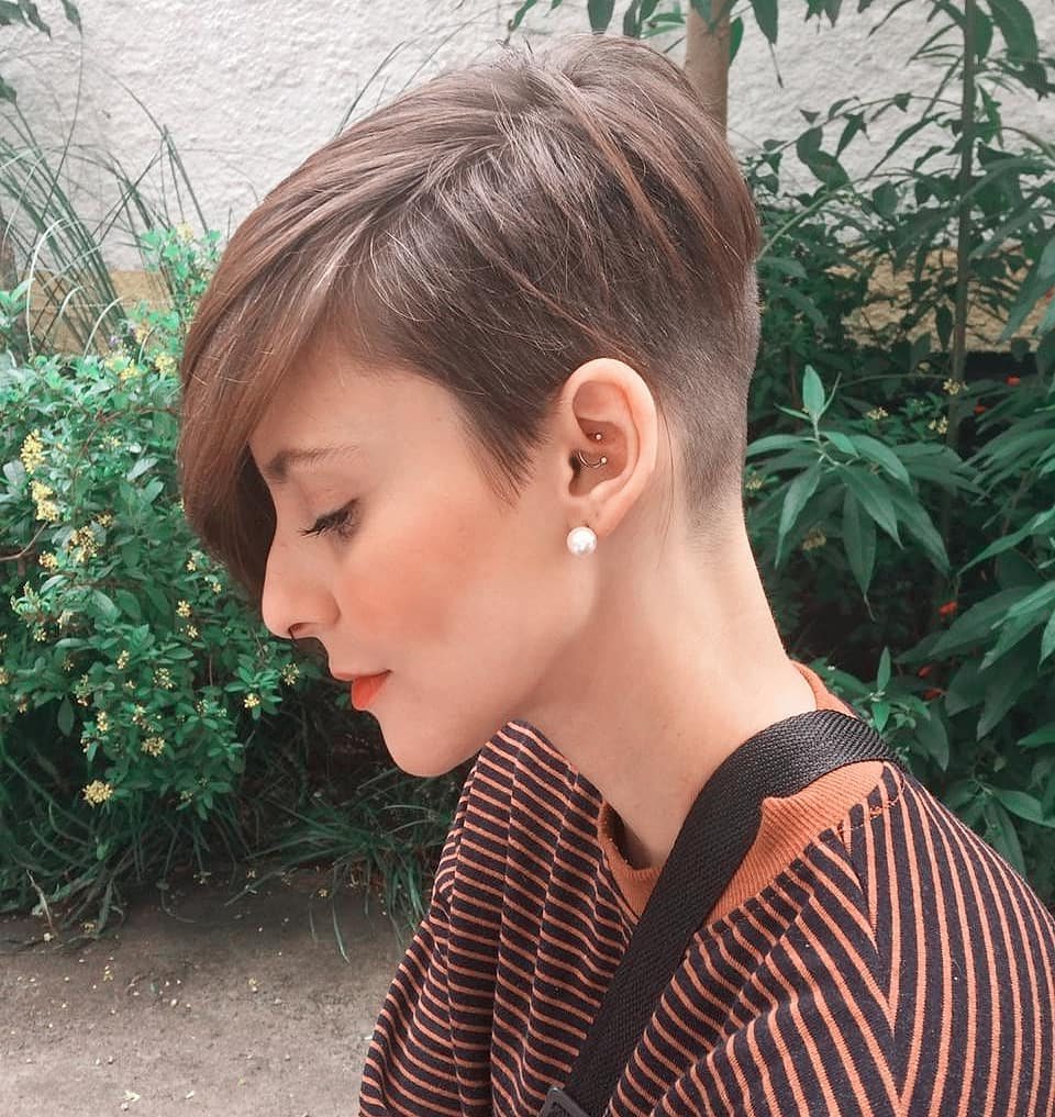 Shaved Hair Designs (View 12 of 20)