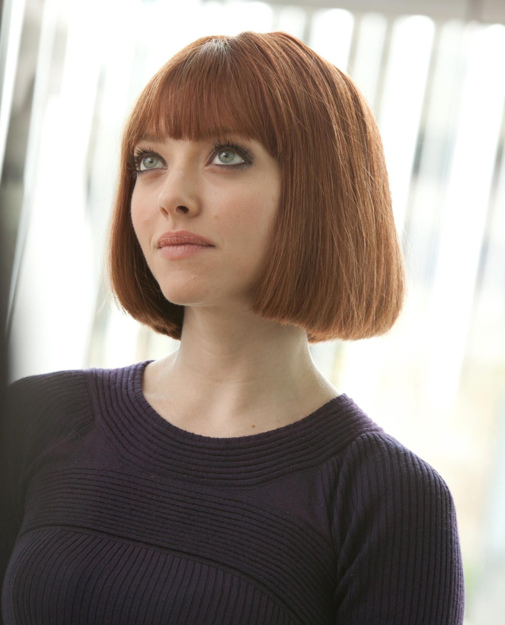 Short Bob Hairstyles With Regard To Trendy Vintage Bob Hairstyles With Bangs (View 8 of 20)