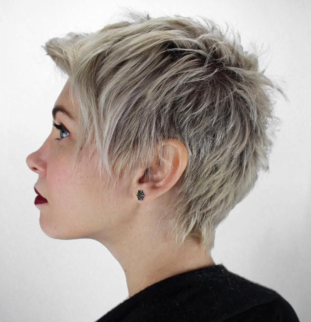 Short Hair Pertaining To Famous Androgynous Pixie Haircuts (View 11 of 20)