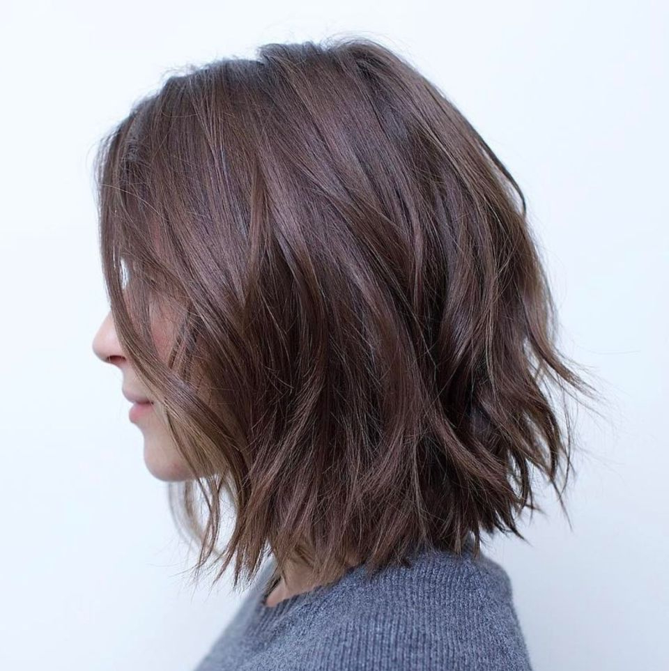 Featured Photo of Jagged Bob Hairstyles For Round Faces