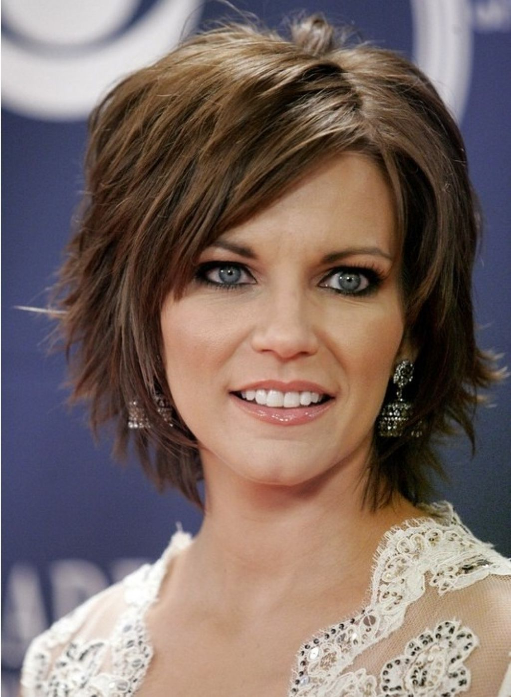 Short Layered Bob Short Layered Bob Hairstyle With Bangs Inside Most Recent A Very Short Layered Bob Hairstyles (View 5 of 20)
