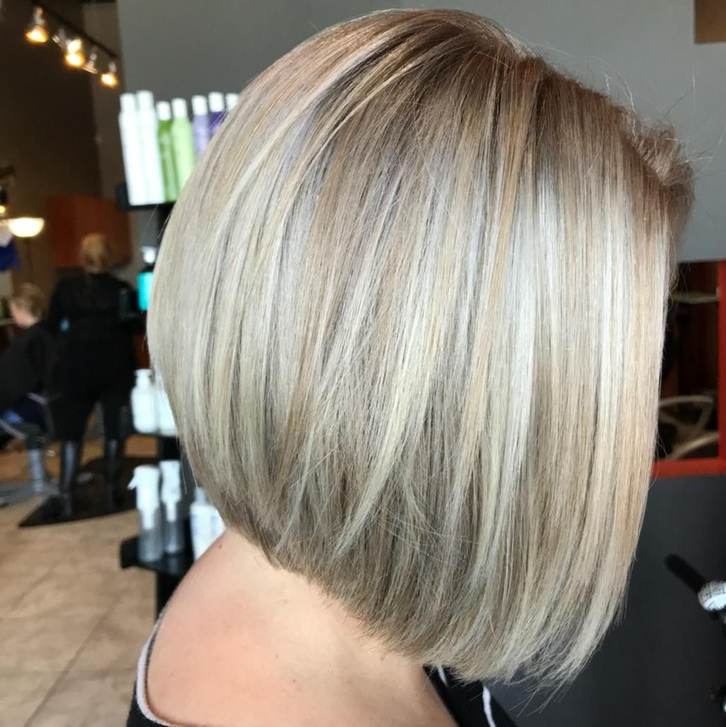 Short Sassy For Well Known Sassy Angled Blonde Bob Hairstyles (View 15 of 20)