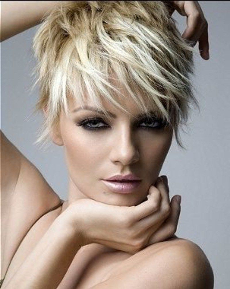 Short With Trendy Edgy Messy Pixie Haircuts (View 5 of 20)