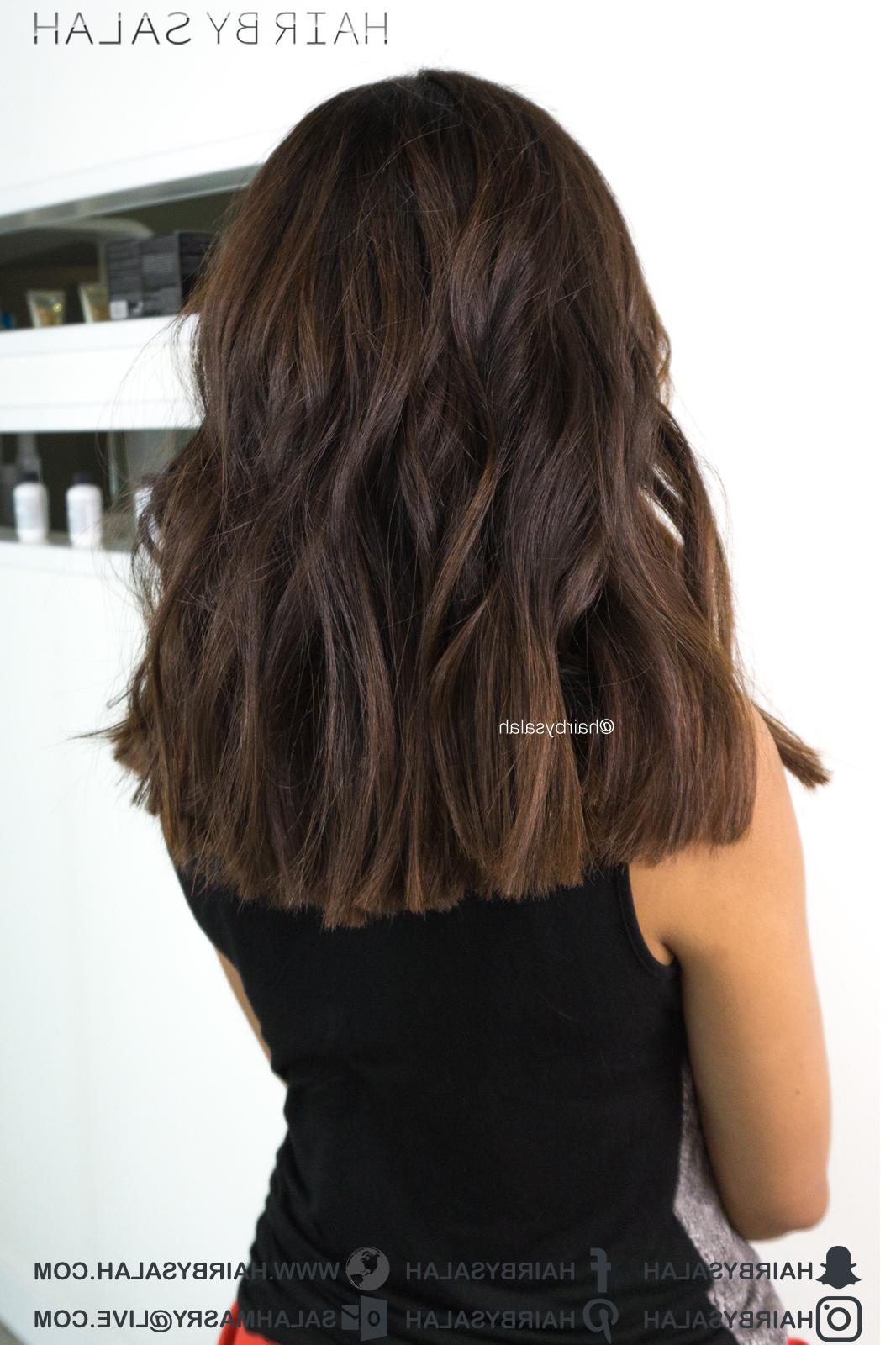 Shoulder Length Hair – Beach Waves – Hairsalah Throughout Current Mid Length Beach Waves Hairstyles (View 6 of 20)