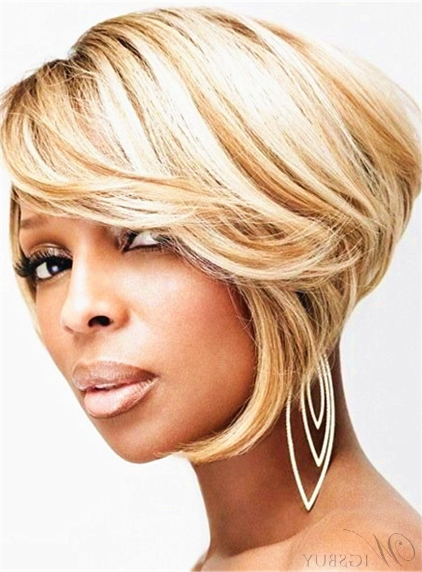 Smooth Hot Sale Bob Hairstyle Layered Straight Synthetic In Well Known Smooth Bob Hairstyles (View 9 of 20)