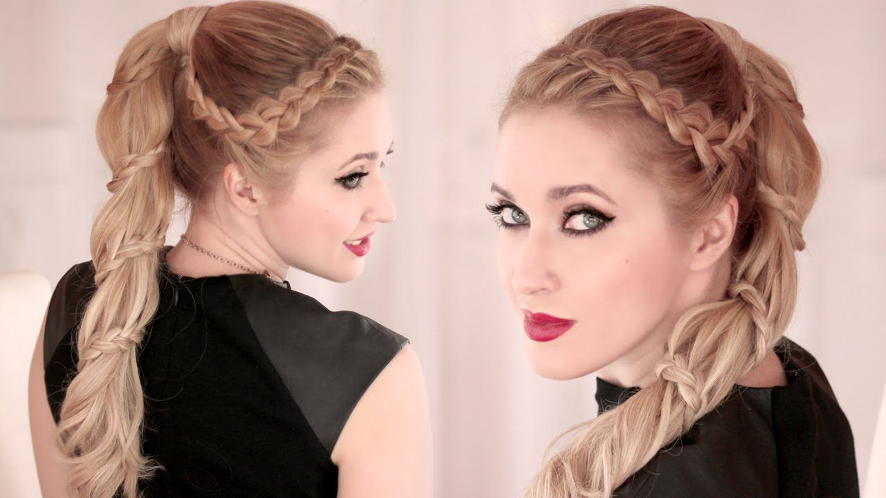 Spiral Braided Ponytail/bun Hair Tutorial – Carousel Style Within Latest Loose Spiral Braid Hairstyles (View 18 of 20)