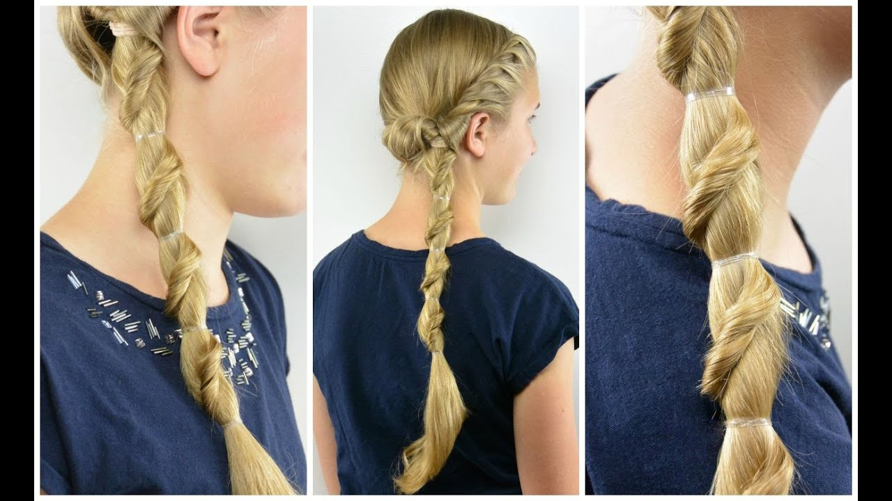 Spiral Staircase Ponytail – Babes In Hairland In Most Recently Released Side Swept Carousel Braid Hairstyles (View 16 of 20)